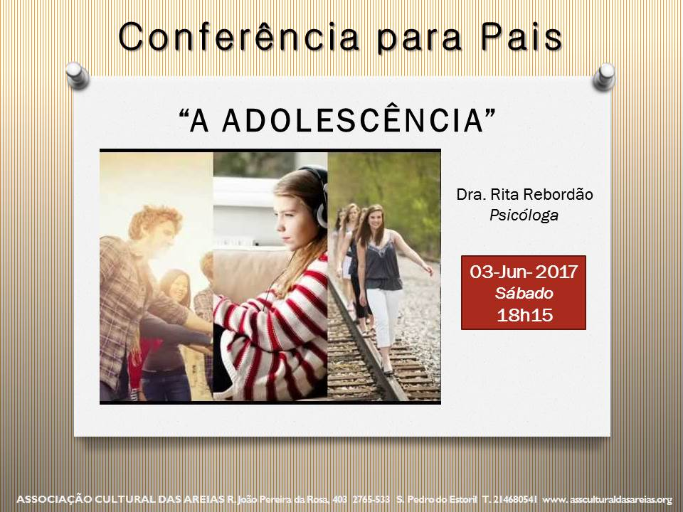 conferencia adolescencia juho2017